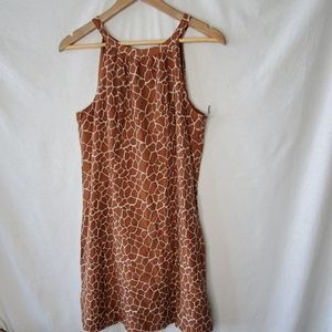 Merona Collection Brown Spotted Dress